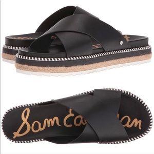 Sam Edelman Leyton Black Espadrille sandal